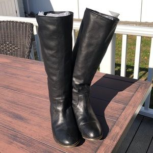 Gentle Souls tall leather boots size 11